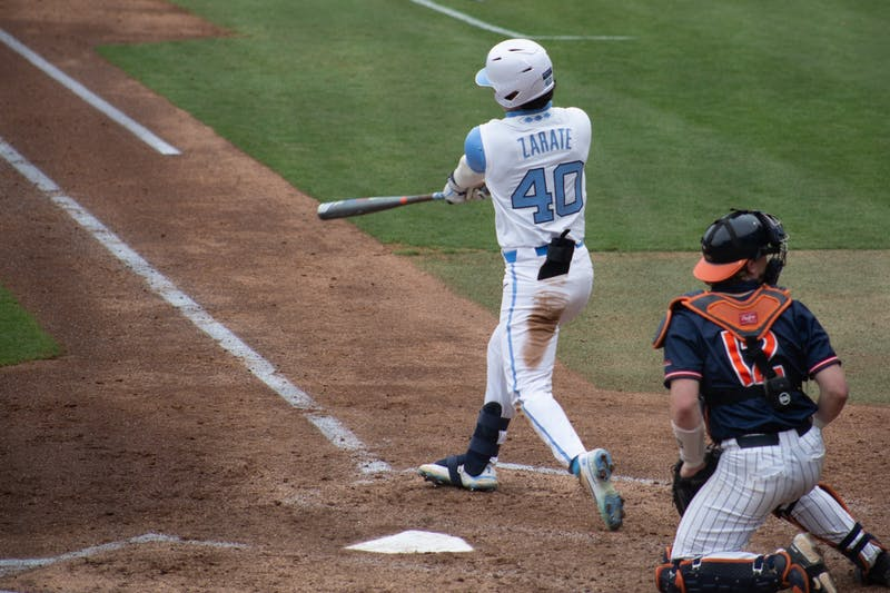 After a long journey, Angel Zarate has willed, worked his way into key role for UNC baseball