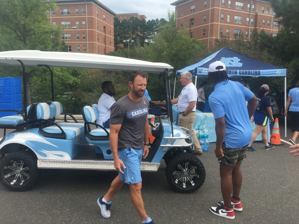 UNC football players provide supplies, per diem for Hurricane Florence relief efforts