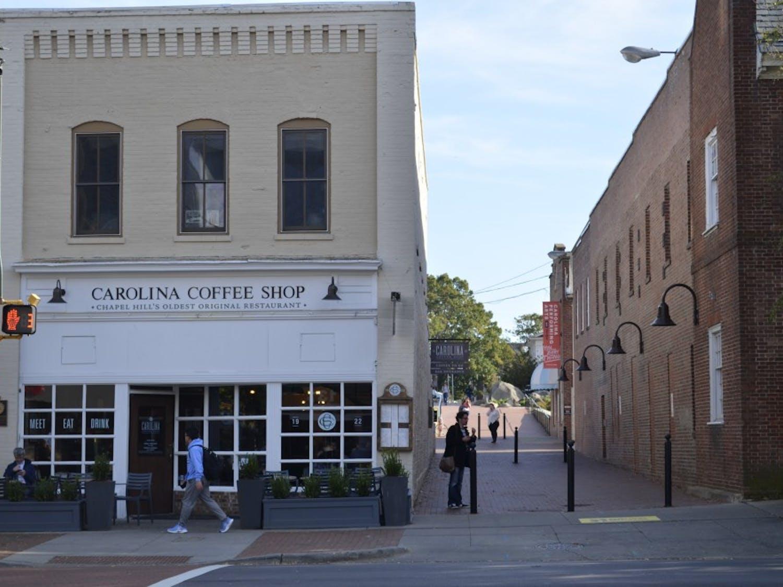Carolina Coffee Shop on Franklin Street, Wednesday Oct. 31, 2018.