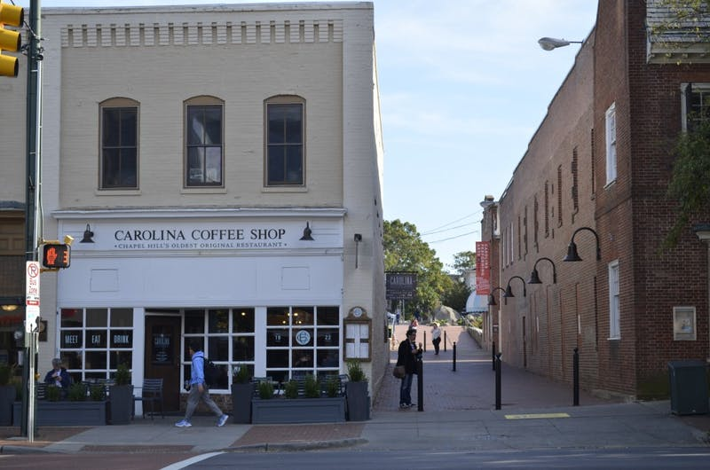 Carolina Coffee Shop on Franklin Street, Wednesday Oct. 31, 2018.