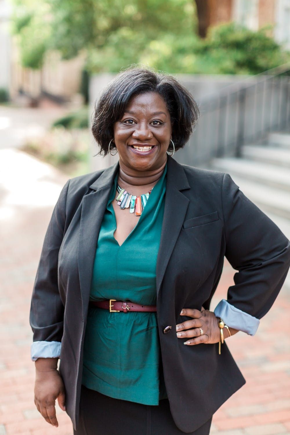 <p>Tressie McMillan Cottom, an associate professor at the UNC School of Information and Library Science was named a MacArthur Fellow in the foundation's Class of 2020. Photo courtesy of John D. and Catherine T. MacArthur Foundation.</p>