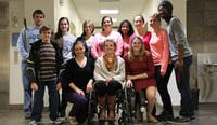 The Advocates for Carolina meet in the Union Monday afternoon to discuss how to make themselves and their disabilities more visible on campus.