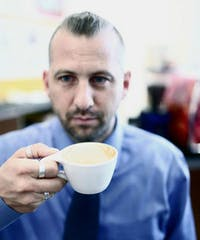 Scott Conary, president of Carrboro Coffee Roasters and owner of Open Eye Cafe, will be the head judge for all coffee submissions in this year's Cup of Excellence Awards. Photo courtesy of Scott Conary.