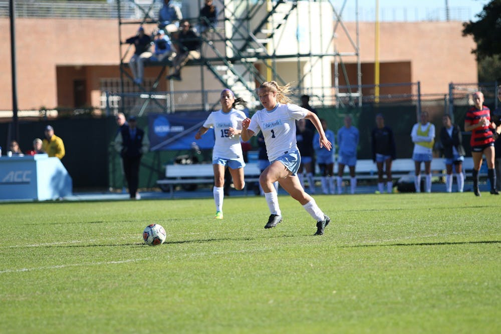 Madison Schultz scores another game winner for UNC women's soccer