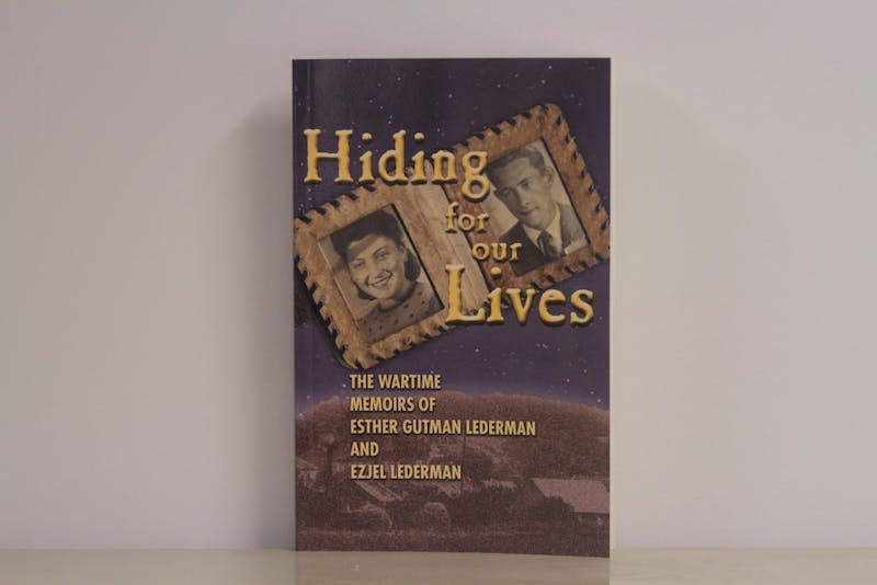 Hiding for our Lives is a book about a 93-year-old Chapel Hill resident who survived the holocaust.