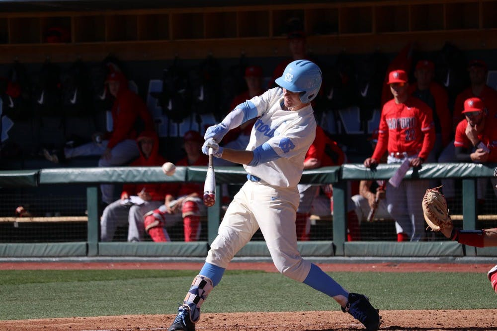 UNC baseball takes sigh of relief in sweep of Radford