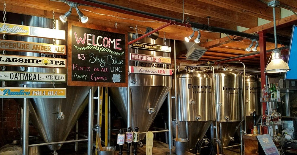 Carolina Brewery celebrates 22nd year on West Franklin Street