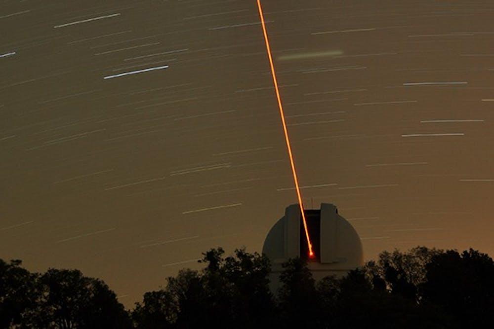 UNC telescopes could get robotic lasers