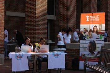 "The campus organization, Q for the Kids, put on a fundraiser to raise funds for the ""No Kid Hungry"" project which is striving to alleviate hunger across North Carolina."