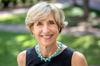 Dean Susan King of the Hussman School of Journalism and Media received the 2019 Scripps Howard Administrator of the Year title. Photo courtesy of King.