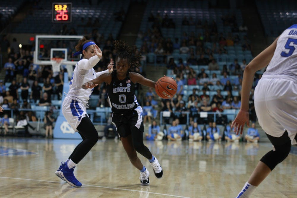 Unexpected 16-point loss ends UNC women's basketball's four-game win streak