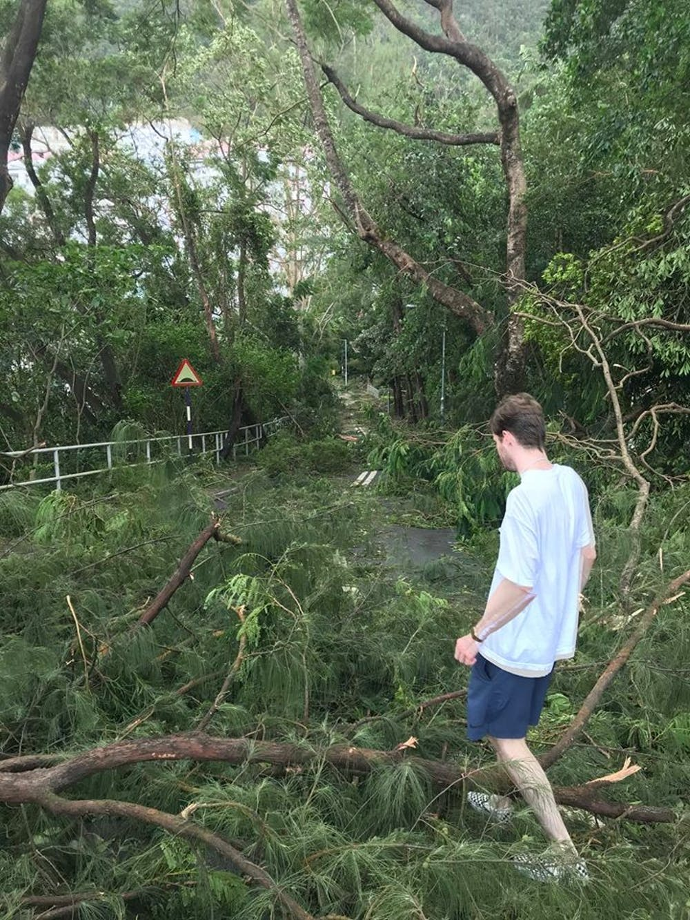 UNC students abroad in Hong Kong hunker down for Typhoon Mangkhut