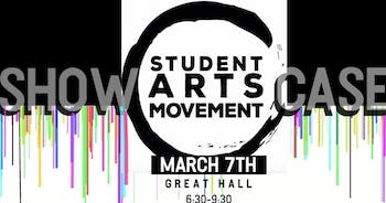 The Student Arts Movement will put on its showcase on March 7 in the Great Hall. Photo courtesy of Student Arts Movement.