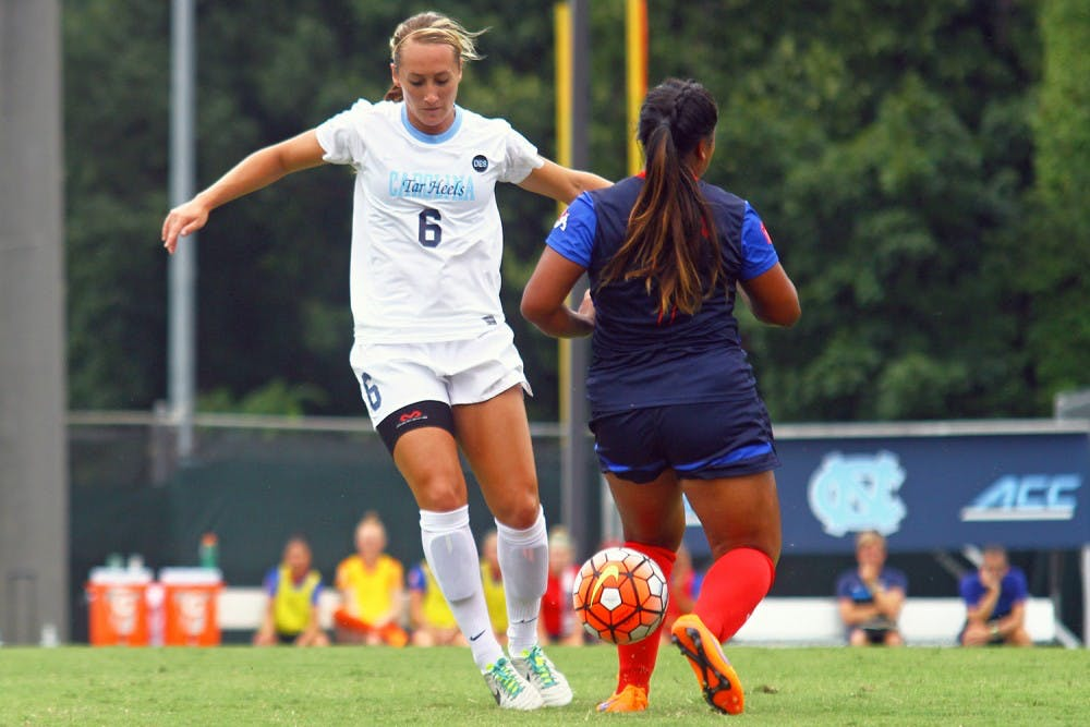 Summer Green keeps fighting for UNC women's soccer