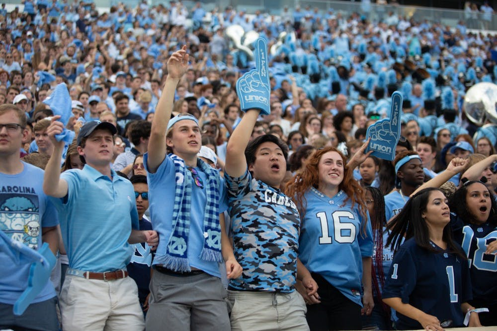 Students can apply for football tickets through lottery, UNC Athletics announces