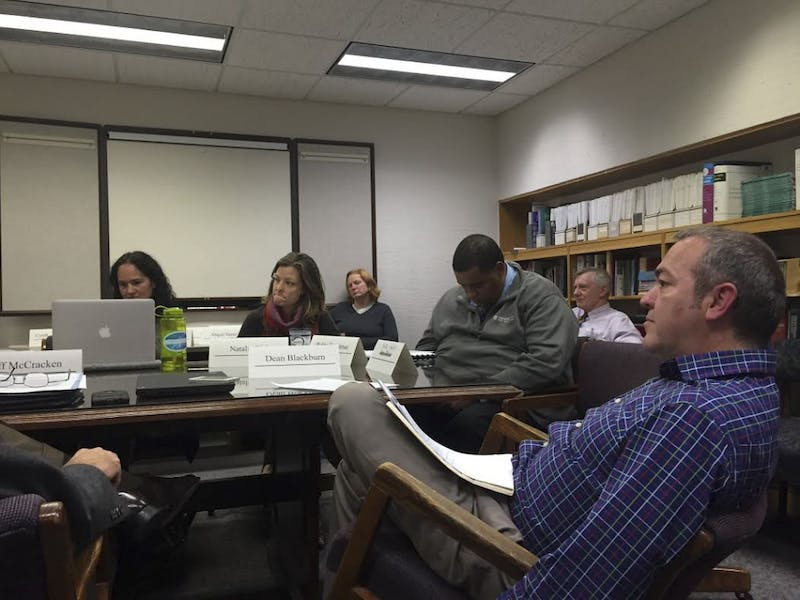 The Binge Drinking Task Force met on Monday afternoon.