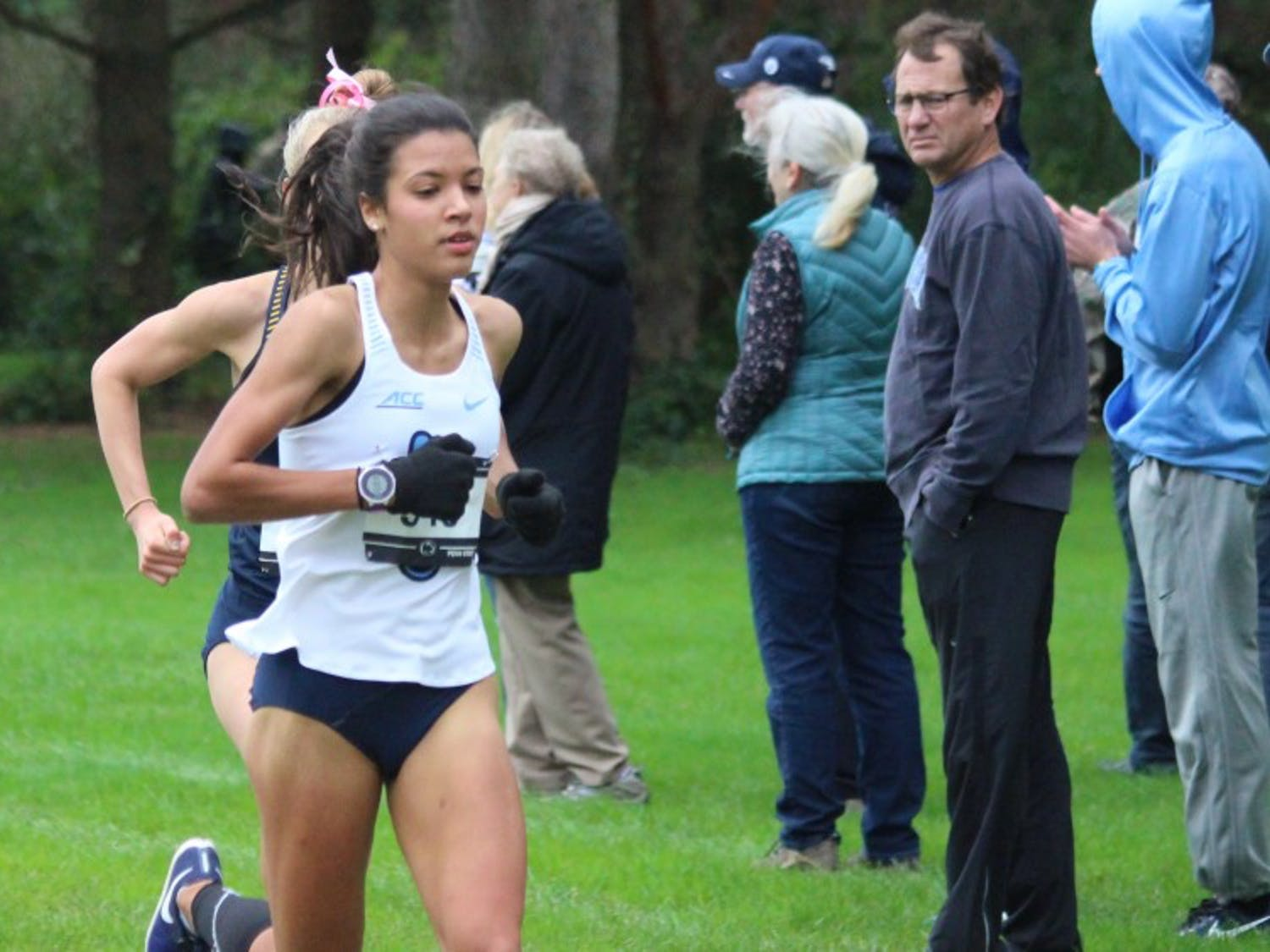 UNC first-year cross country runner Enyaeva Michelin. Photo courtesy of UNC athletic department.