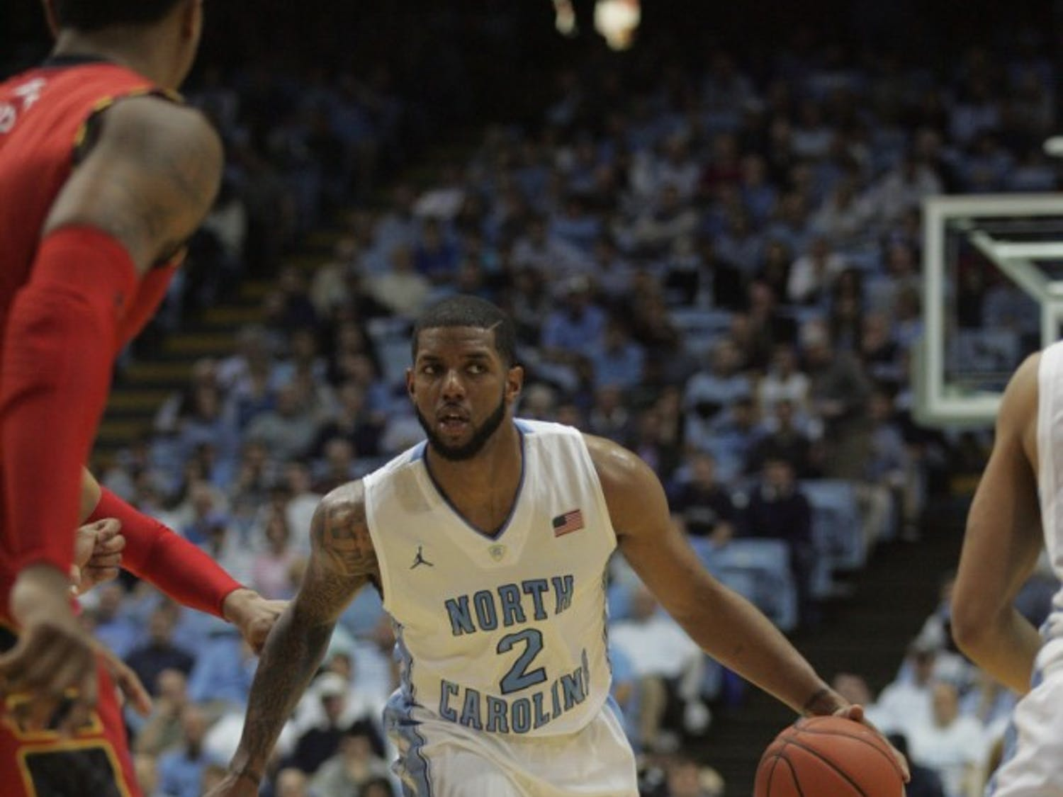 UNC defeated Maryland 75-63 in their last ACC meeting in Chapel hill, N.C.