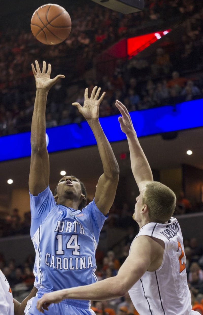 Desmond Hubert scored three points in the first half and was scoreless in the second.