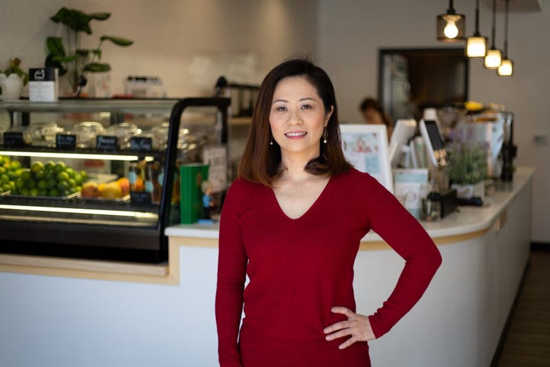 Julia Chiu (Ya Huei) is co-owner of Cha House, a tea house on Franklin Street that she opened with her sister in April of 2018.