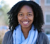 Shelby Eden Dawkins-Law is running for Graduate School President. Dawkins-Law is a first year PhD student in education with a concentration in policy leadership and school improvement.