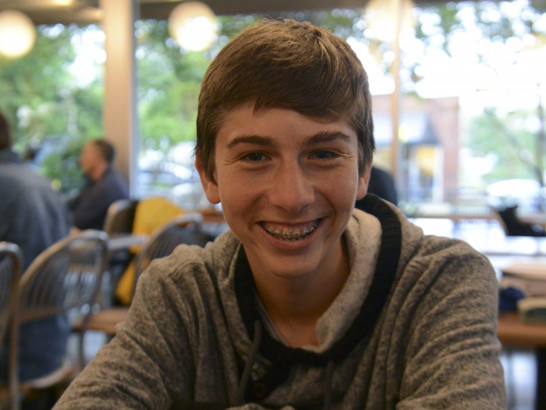 Jonah Perrin, winner of The Yale University Bassett Award for Community Engagement.
