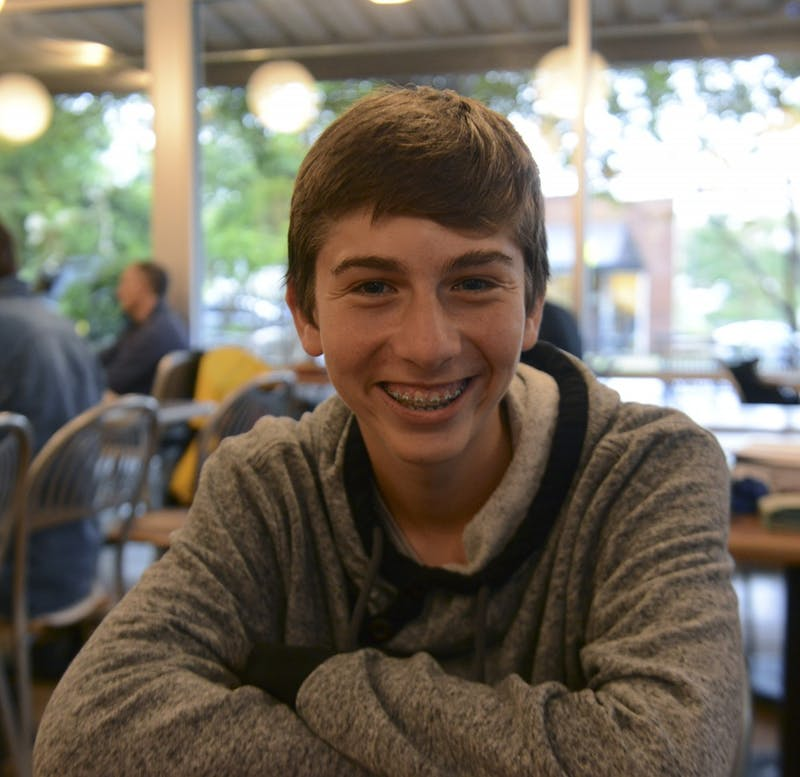 Jonah Perrin, a Carrboro high school junior, is one of 20 national winners of The Yale University Bassett Award for Community Engagement.