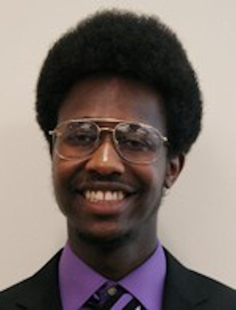 Kevin Claybren, junior Women/Gender Studies major with a Sexuality Studies minor