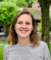 As a Marshall Scholar, UNC Senior Maggie Hilderbran will work towards a masters degree in science and religion at the University of Edinburgh and another in space exploration systems at the University of Leicester. Hilderbran has had a passion for math and science since elementary school, and she hopes to be a researcher at NASA someday.