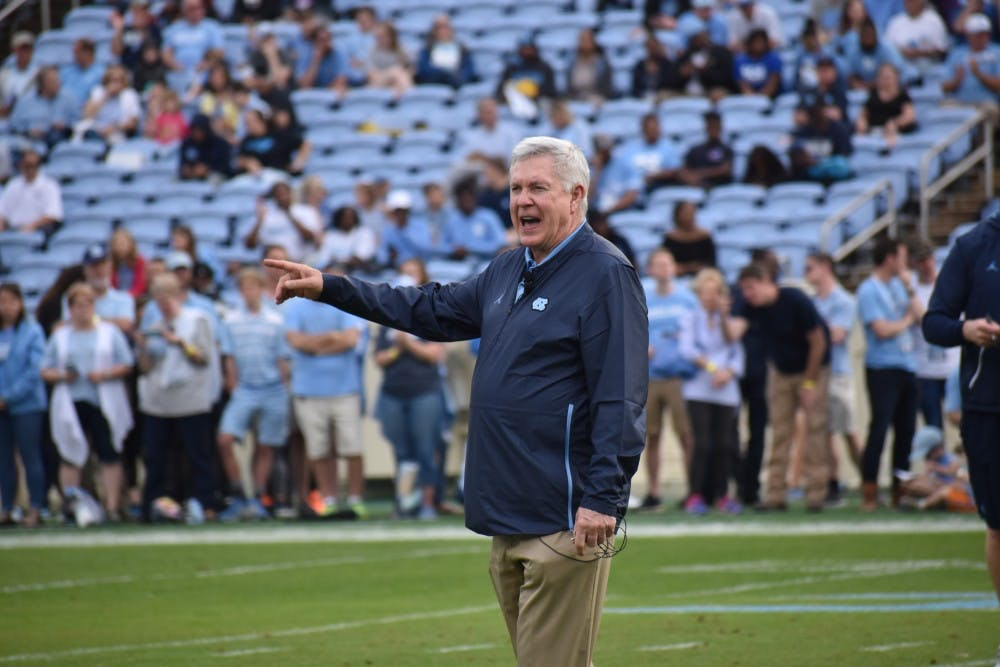 After beating Duke, UNC football prepares for rivalry matchup with Wake Forest