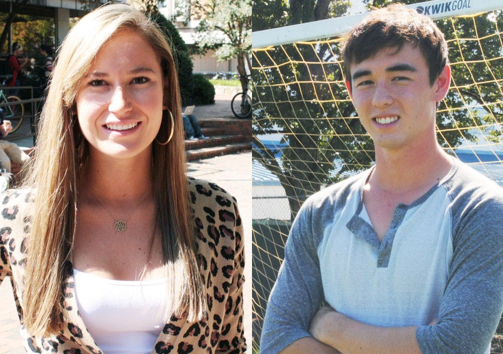 """<p><span class=""""caps"""">UNC</span> students Krissi Fajgenbaum and Gabriel Whaley are up for the People Magazine Reader's Choice Hero Award.</p>"""