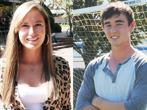 UNC students Krissi Fajgenbaum and Gabriel Whaley are up for the People Magazine Reader's Choice Hero Award.