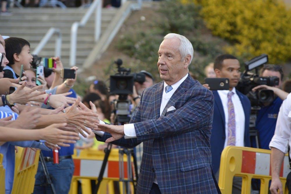 UNC men's basketball fans send off team as Tar Heels depart on quest for redemption