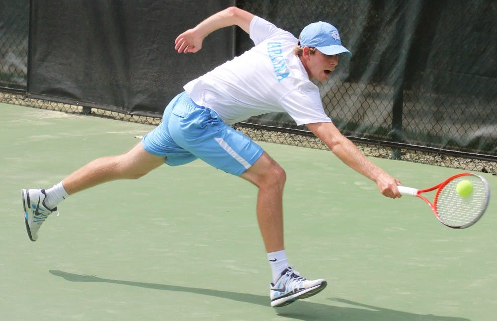 Doubles points key for UNC men's tennis in match against Florida State