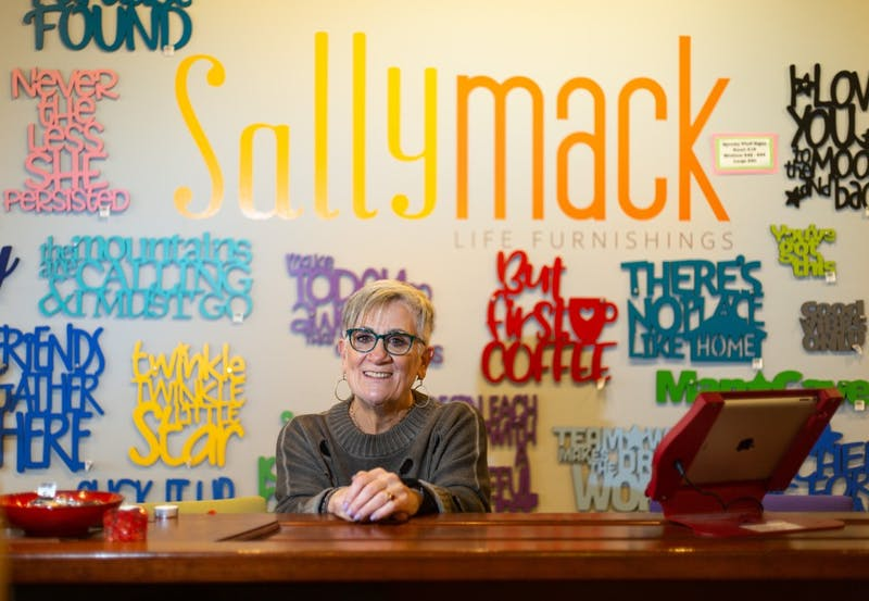 Sally Stollmack is the owner of SallyMack, a lifestyle boutique in Chapel Hill's Midtown Market that has been open since 2014.