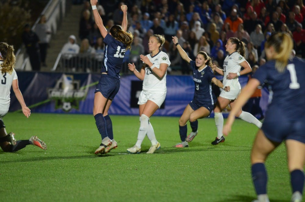 UNC women's soccer gets past another roadblock, advances to National Championship