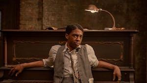 Chadwick Boseman in 'Ma Rainey's Black Bottom' on Netflix. Photo courtesy of David Lee/Netflix.
