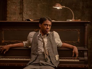 Chadwick Boseman in 'Ma Rainey's Black Bottom' on Netflix. Photo courtesy of David Lee/Netflix.