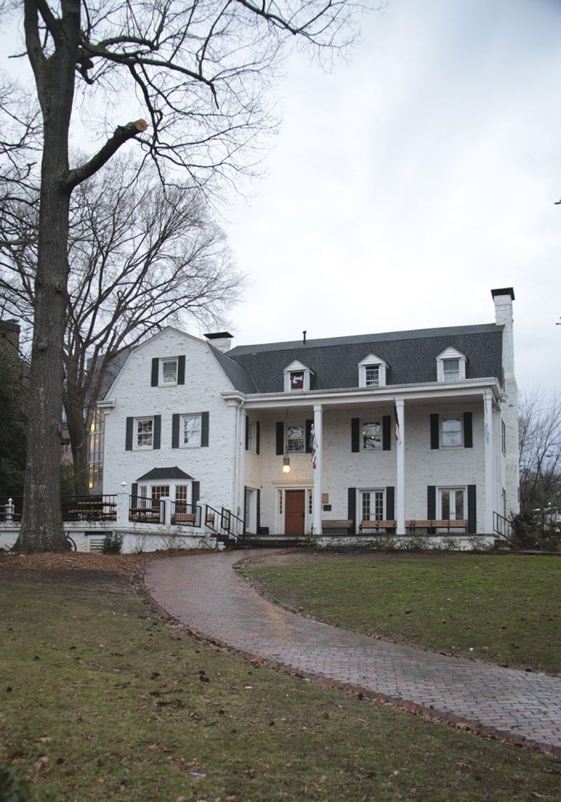 The UNC Chi Phi fraternity house.