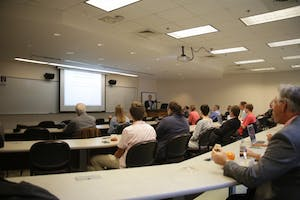 Tim Duane, visiting professor of Law at the University of San Diego School of Law, gave a lecture at the UNC School of Law.