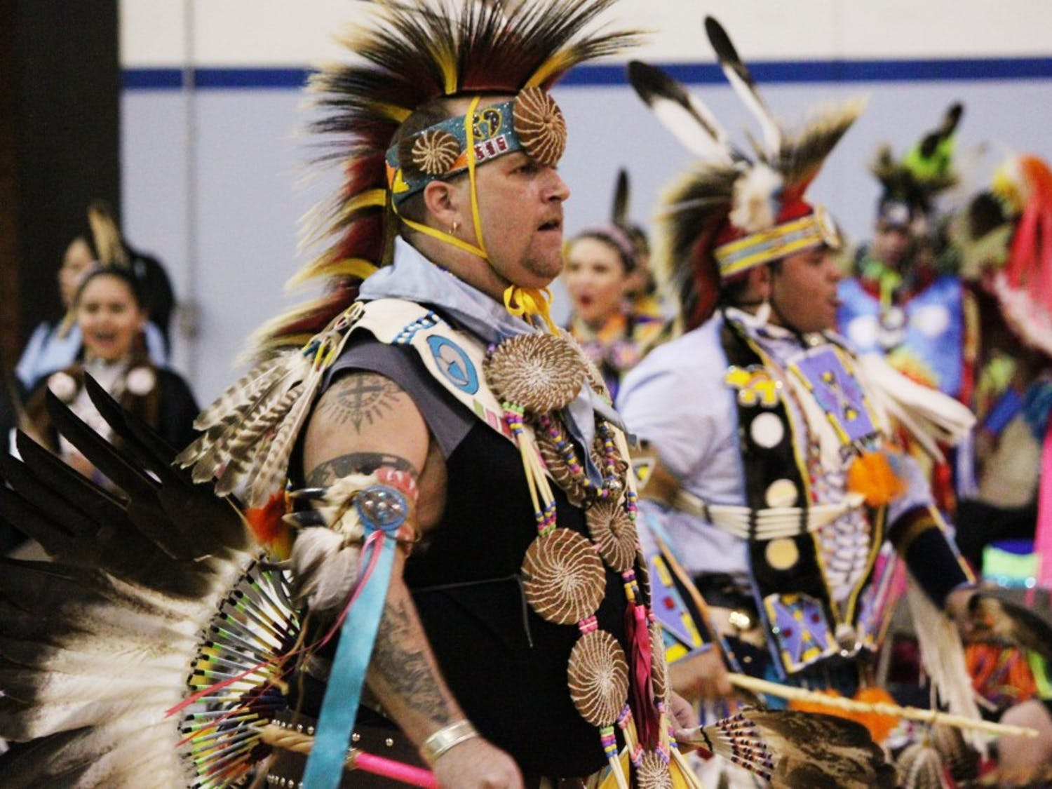 The Carolina Indian Circle Powwow was held this year in honor of Faith Hedgepeth.