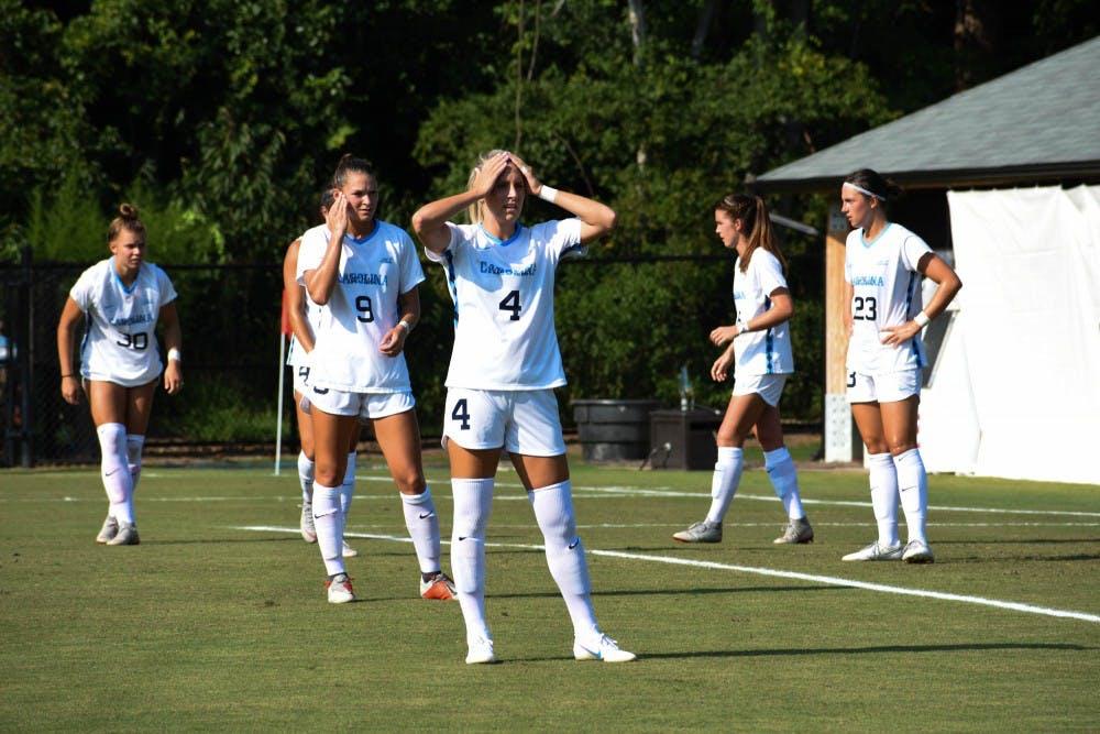 Dorwart scores first career goal in women's soccer's 3-1 win over Illinois