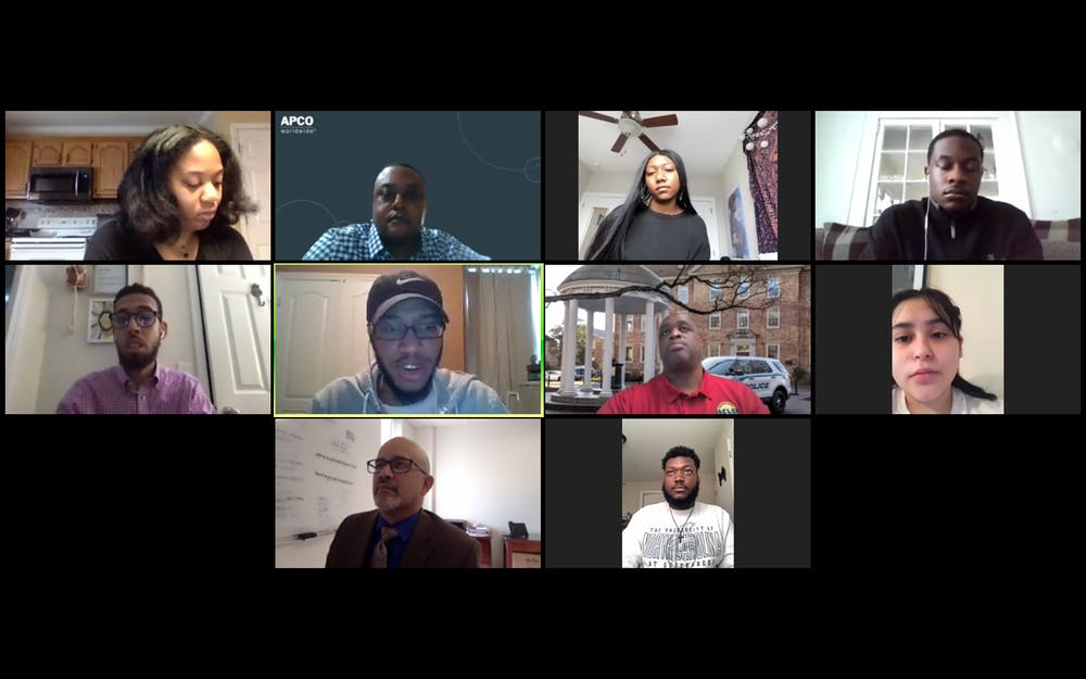 <p>The UNC System Racial Equity Task Force is holding a series of virtual town halls for students, staff and faculty to provide feedback on racial equity at individual institutions and in the UNC System.&nbsp;</p>