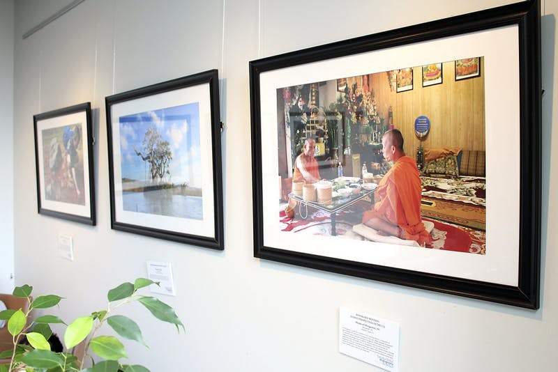 The 2015 Carolina Global Photography Exhibition is on display until July 31 in the FedEx Global Education Center.