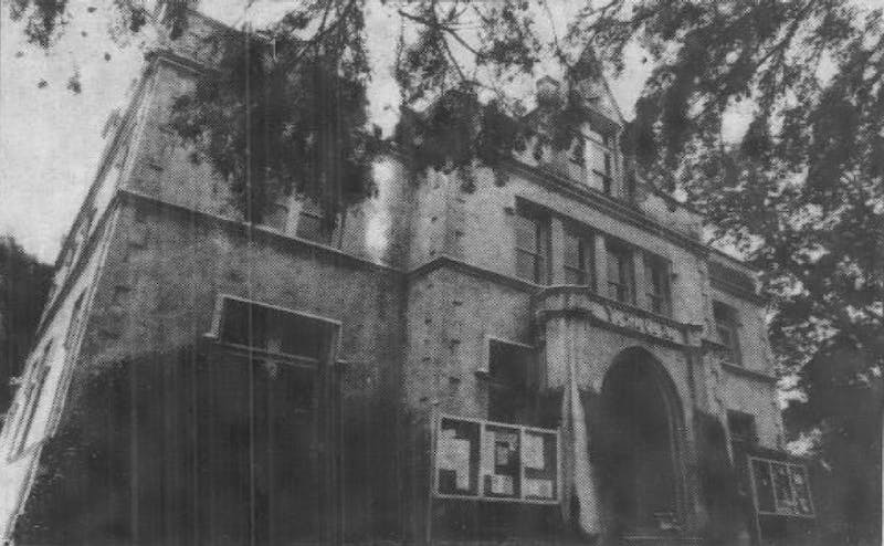 The Daily Tar Heel used to be housed in the Campus Y, which is pictured here in a July 18, 1985 edition of the newspaper.