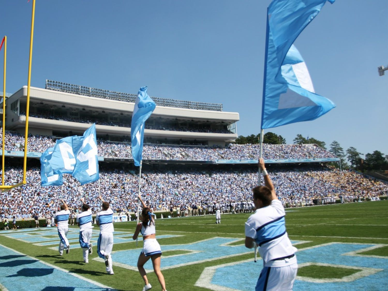 The Georgia Tech Yellow Jackets defeated UNC 30-24 at Kenan Stadium on Saturday, September 18, in UNC's home opener.
