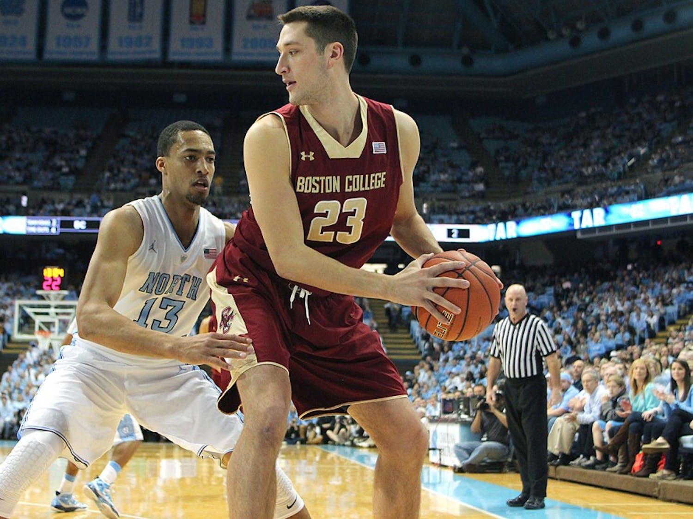 Men's Basketball vs. Boston College Jan. 18, 2014.