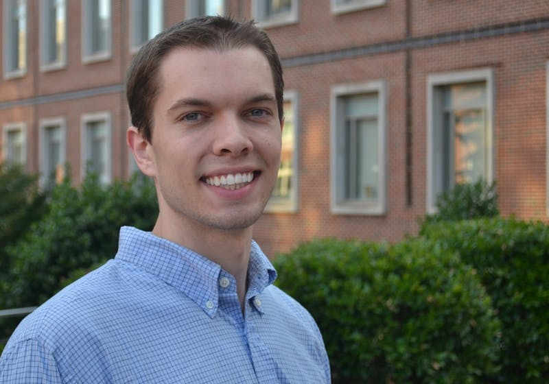 Graduate student Nelson Pace helped found Stigma Free Carolina two years ago (courtesy of Nelson Pace).