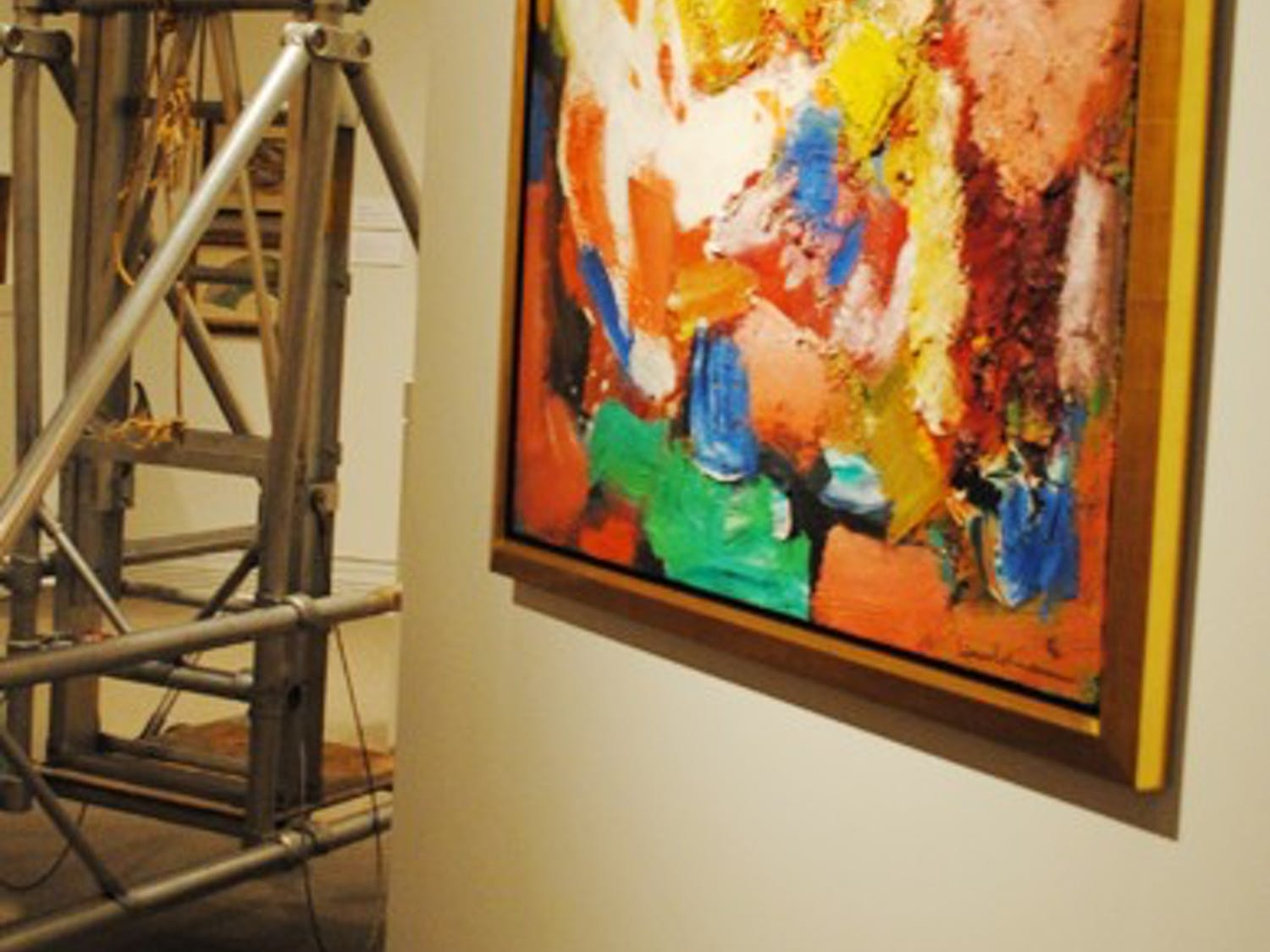 """Hans Hofmann's """"Dorment Beauty"""" is on display in the new Ackland exhibit, which opens to the public Friday."""