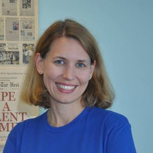 Erica Perel, who served as The Daily Tar Heel's newsroom advisor for nine years, has been named the paper's new general manager. Photo courtesy of Erica Perel.